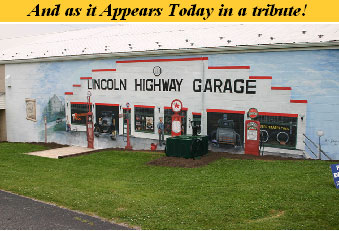 Lincoln Highway Garage Mural in York, PA