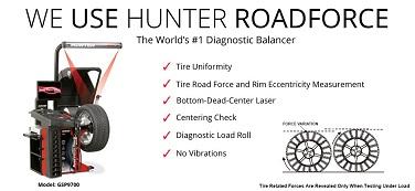 Hunter Road Force Balancer in Old Lyme, CT