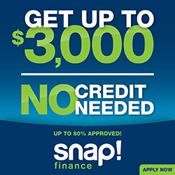 Snap! Finance up to $3000