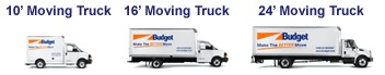 Budget Rental Truck in Central Valley, NY
