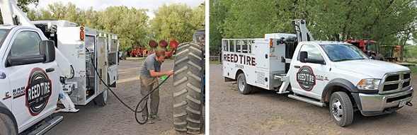 Mobile Tire Repair in La Jara, CO