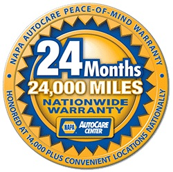 NAPA Warranty in Eleanor, WV