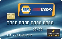 NAPA Credit Card in York, PA